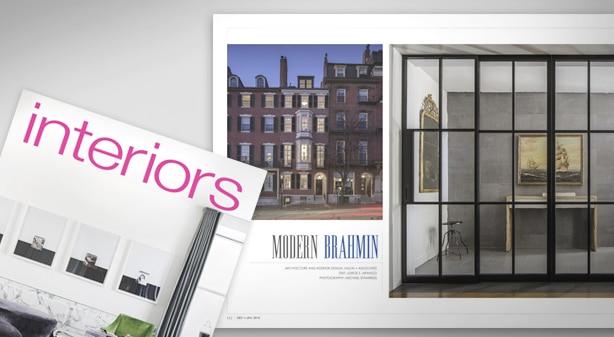 interiors magazine showcases h a s boston common townhouse hacin