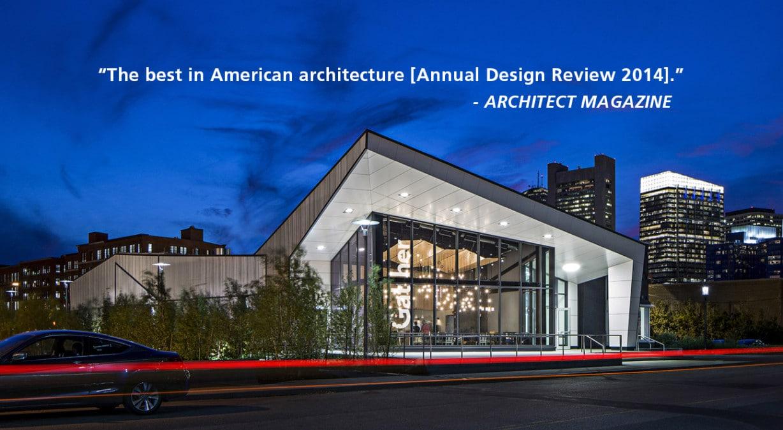 District Hall One Of Architect Magazine S Best In American Architecture Hacin Associateshacin Associates